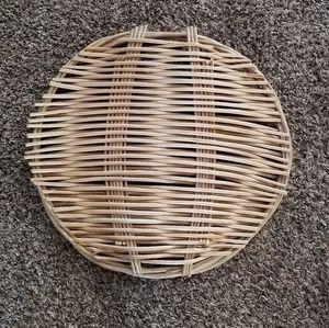 Wicker Boho Tray